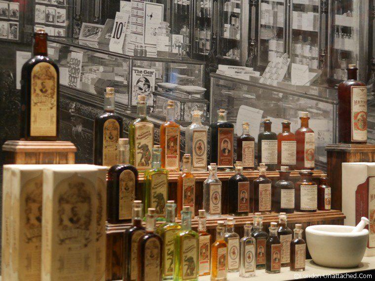 Bourbon - Medicinal bottles - Louisville