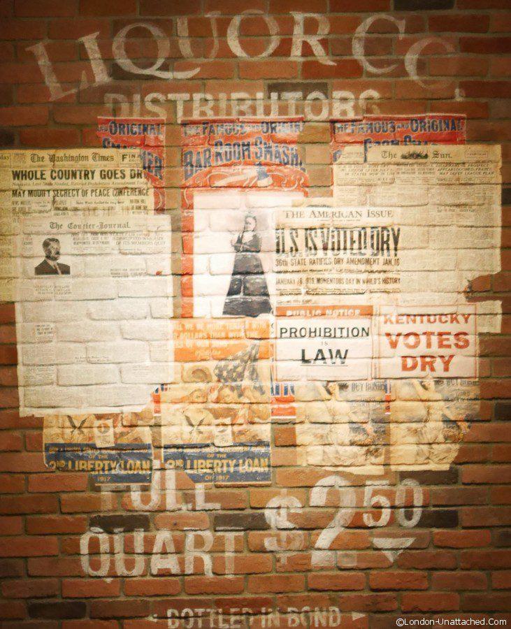 Bourbon - prohibition exhibition Louisville