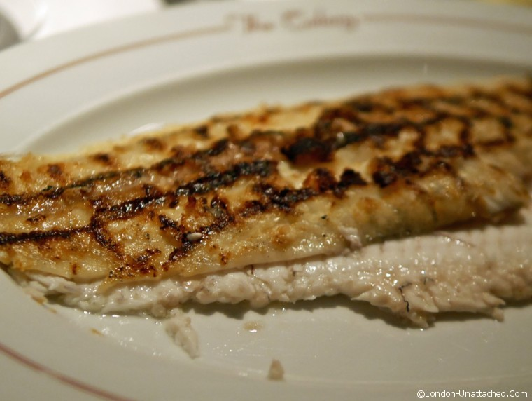 Colony Grill Dover Sole - Colony Grill Room