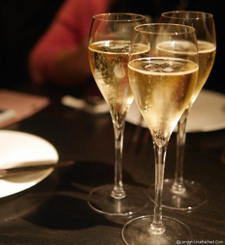 Hakkasan champagne