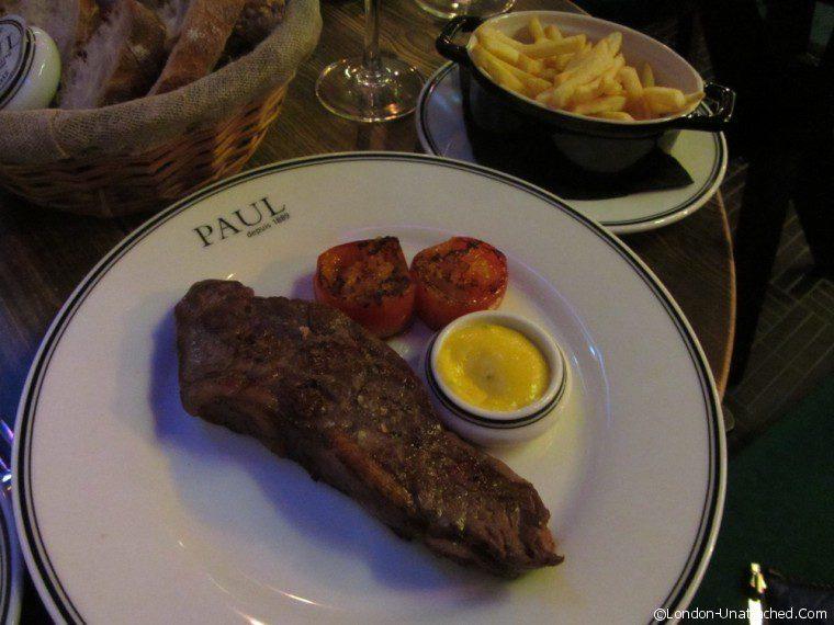 Restaurant Paul steak