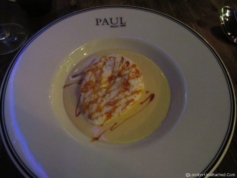 Restaurant Paul dessert