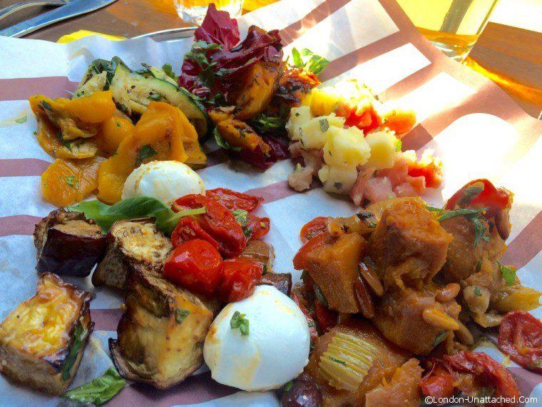 Salads at Vico