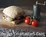 Mediterranean Vegetable Steak Sandwich - small