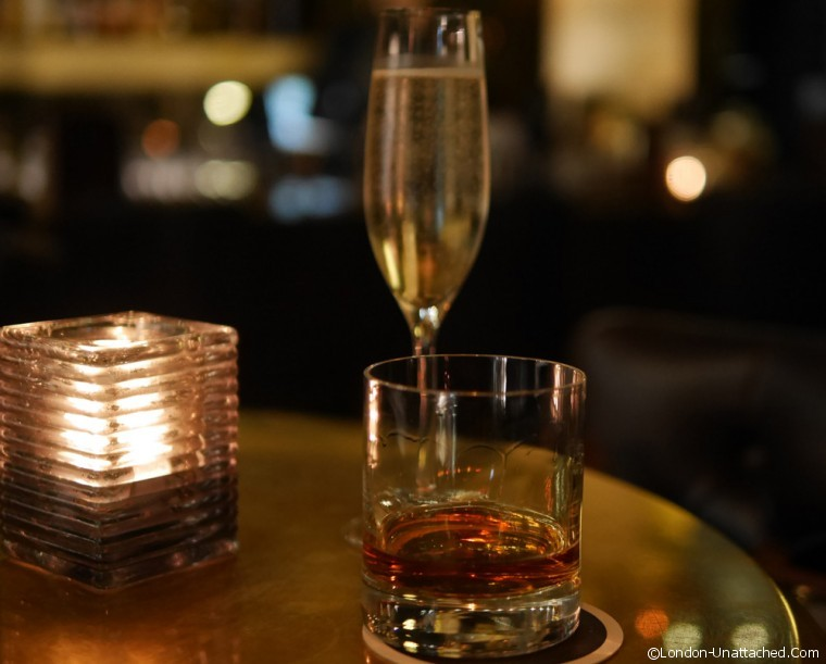 Barbecoa Champagne and Bourbon