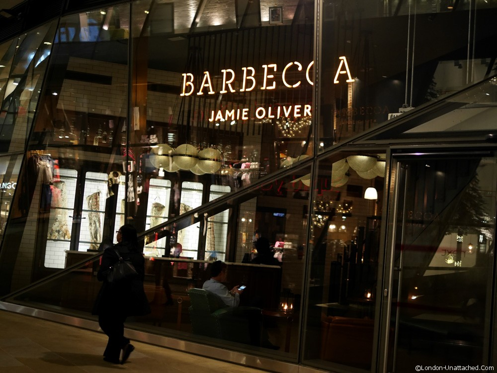 Barbecoa, Jamie Oliver's Steakhouse in St Pauls