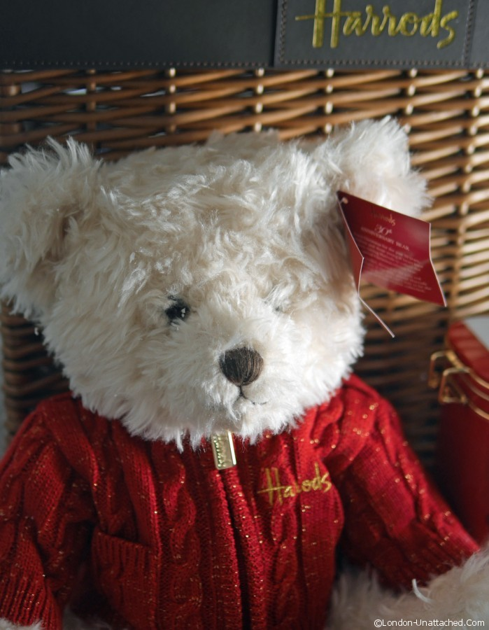 Harrods Christmas Teddy