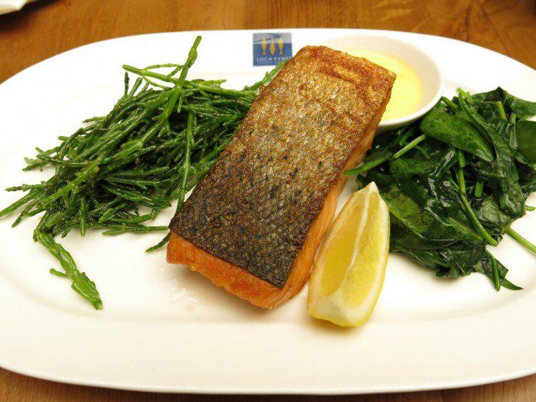 Loch Fyne Gluten Free Salmon and Greens