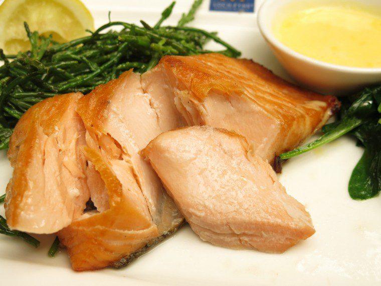 Loch Fyne Gluten Free Salmon and Sauce