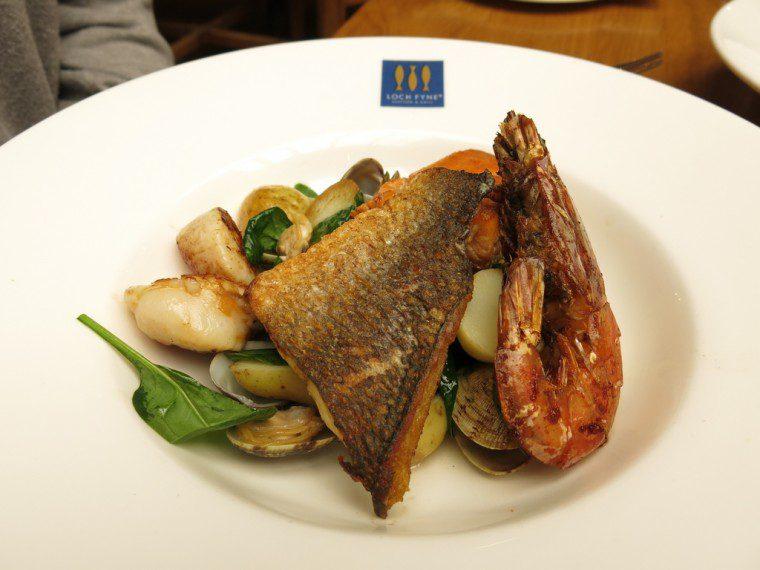 Loch Fyne Gluten Free Seafood Platter