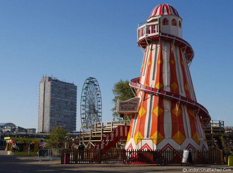 Margate - fairground helterskelter