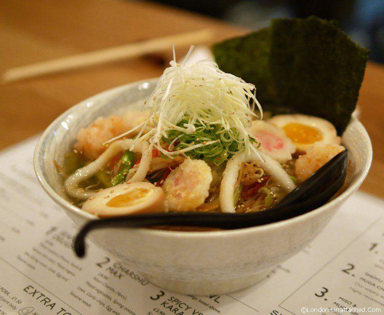 Muga - mixed seafood ramen 2
