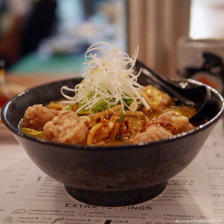 Muga spicy chicken ramen insta