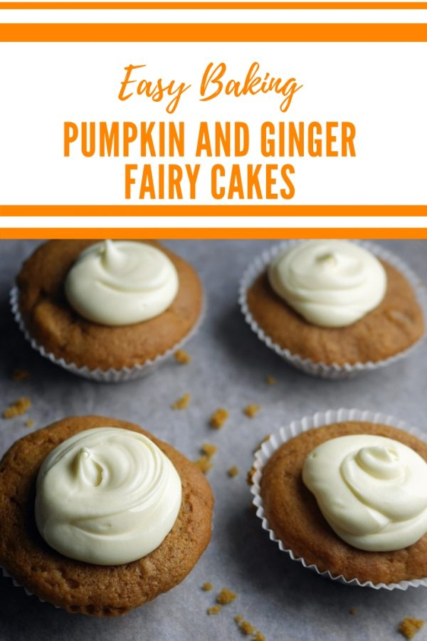 Pumpkin and Ginger Fairy Cakes