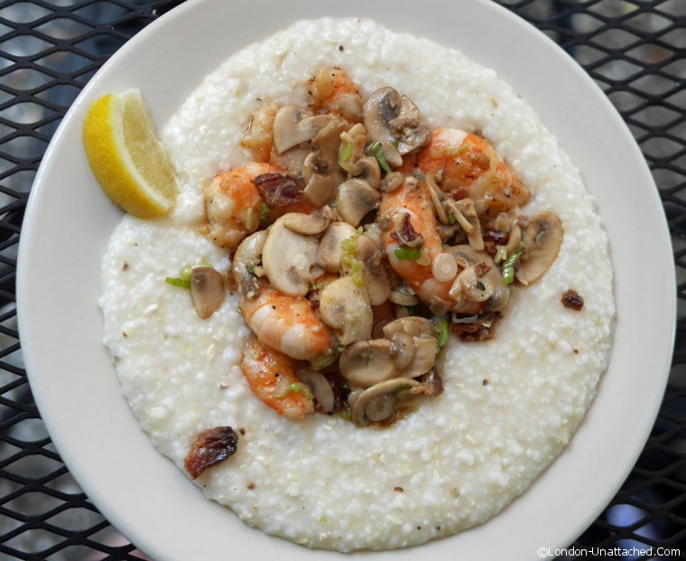 Shrimp and Grits at Hominy Grill Charleston
