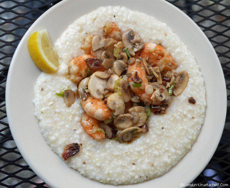 Shrimp and Grits at Hominy Grill Charleston