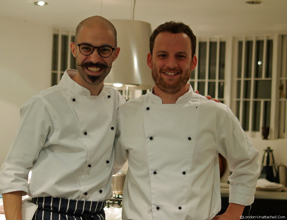 Tony and Luke - La Belle Assiette - London top private chef