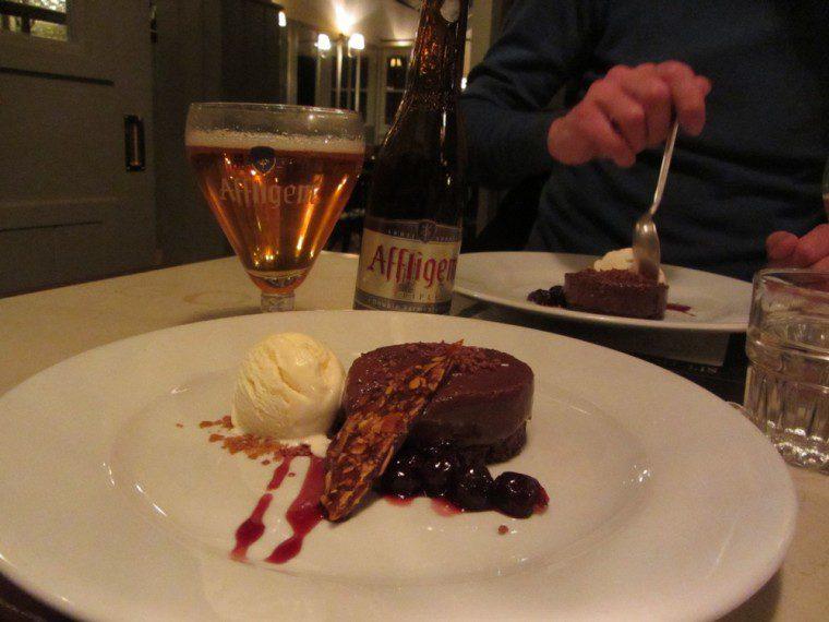 affligem triple beer and chocolate