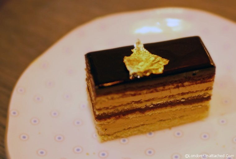 Afternoon Tea Pont Street Opera Cake