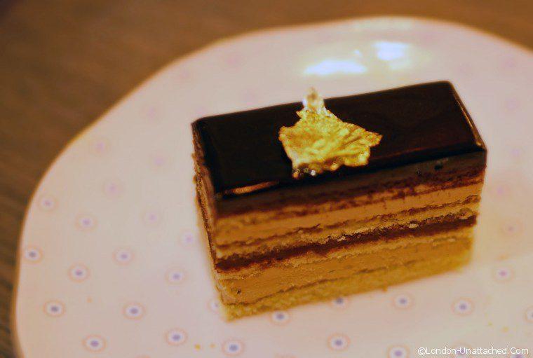 Afternoon Tea Pont Street Opera Cake