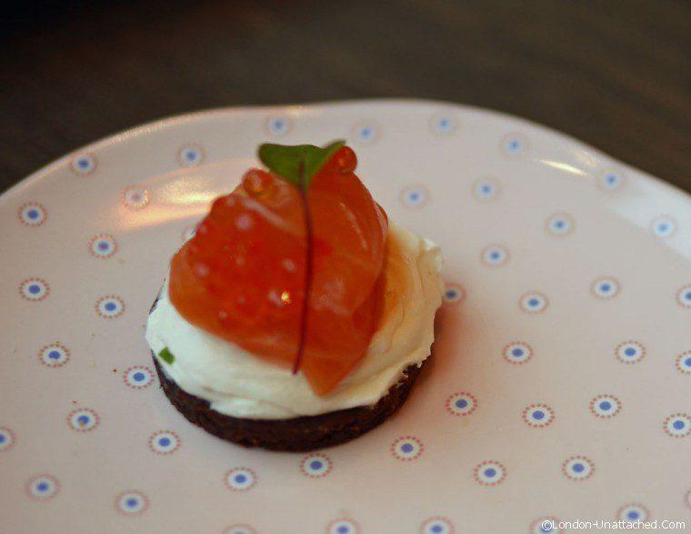Afternoon Tea Pont Street Salmon and Caviar