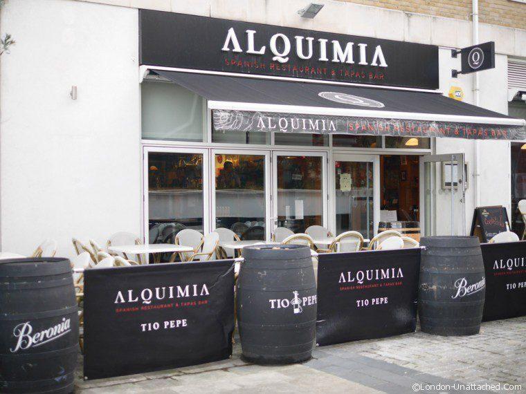 Alquimia Spanish Restaurant Exterior