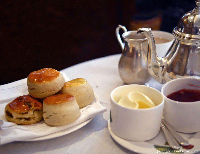 Browns Hotel Afternoon Tea Scones