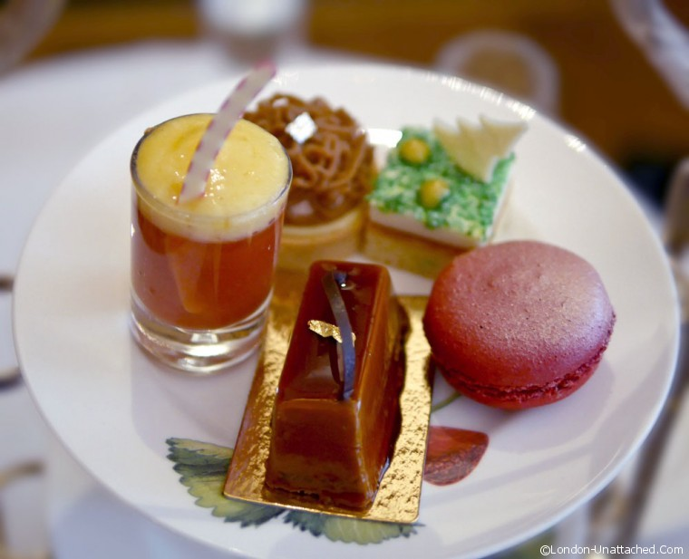 Browns Hotel Festive afternoon Tea Cakes
