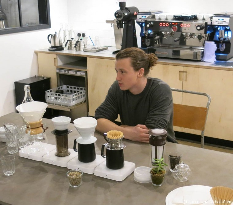 Origin Coffee Tasting
