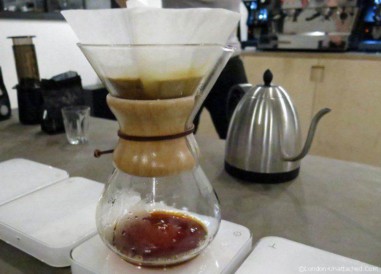 Coffee tasting filter
