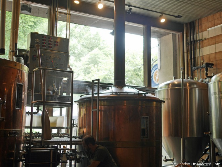 Greenville Blue Ridge Brewery 2