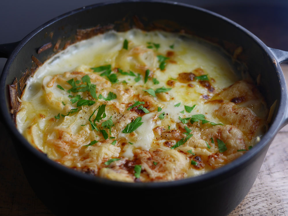 potato and bacon hotpot