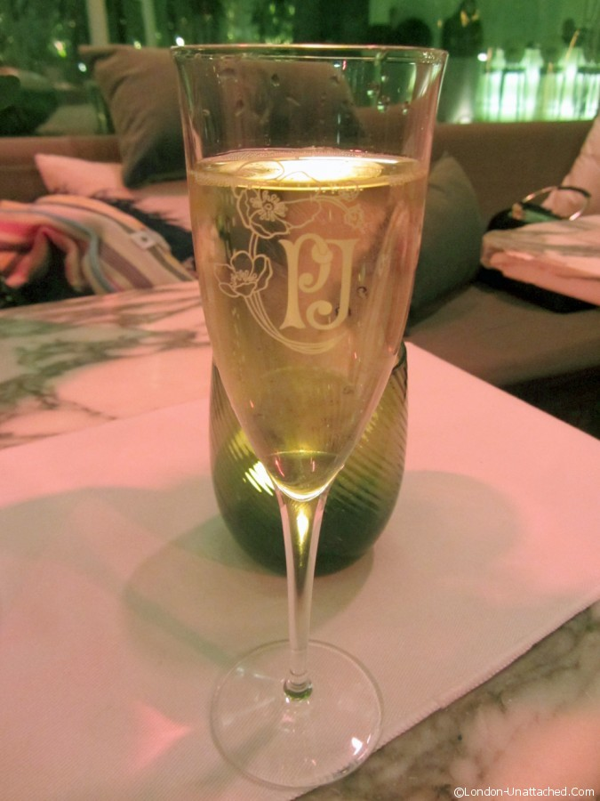 Perrier Jouet Champagne at Sanderson London