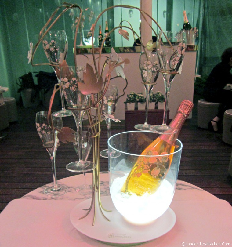 Perrier Jouet at Sanderson London