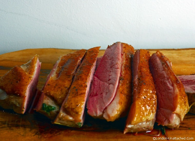 sous vide Duck Breast thermocook