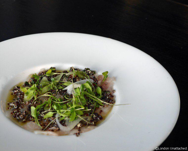 Gaucho Richmond Detox Seabream tiraditos with Quinoa