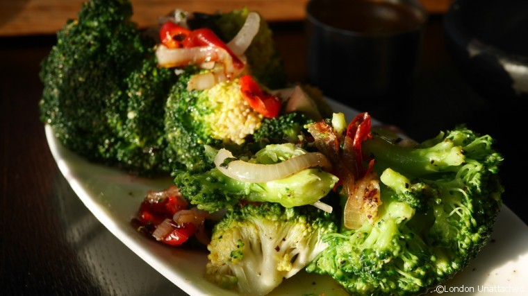 Gaucho Richmond Detox Special Broccolli