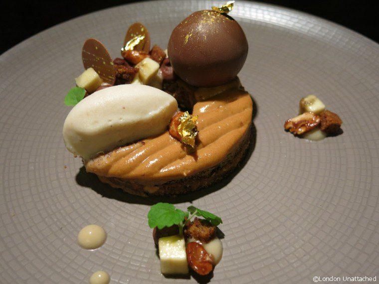 Hakkasan Mayfair Golden Halo Dessert