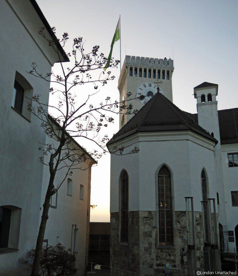 Ljubljana Slovenia Castle 2