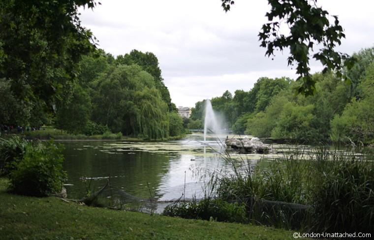 St James's Park - free and great for budget management