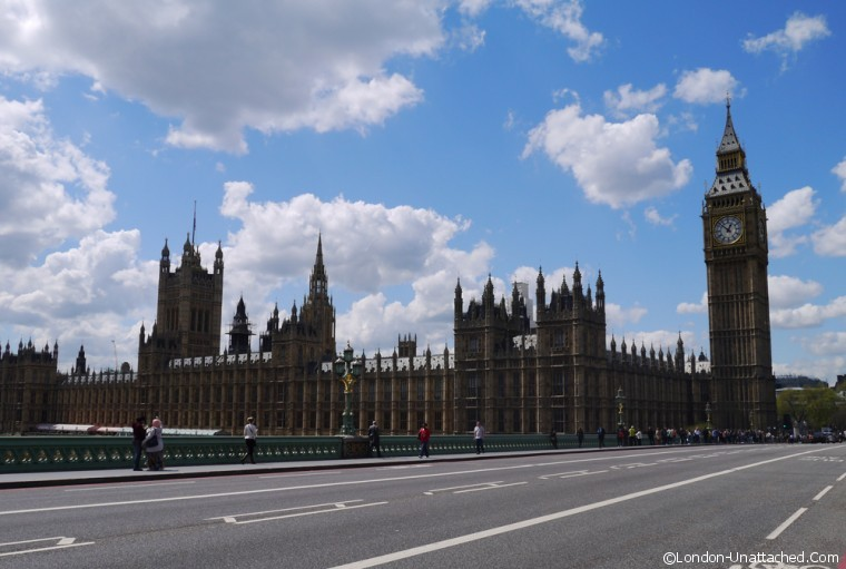 London on a Budget the Houses of Parliament