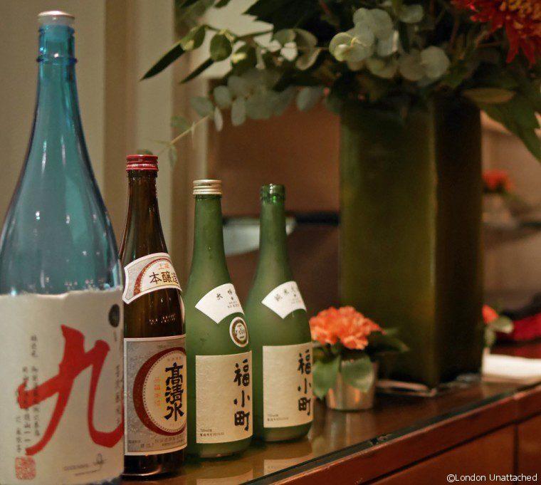 Moti Mahal Sake Bottles 2