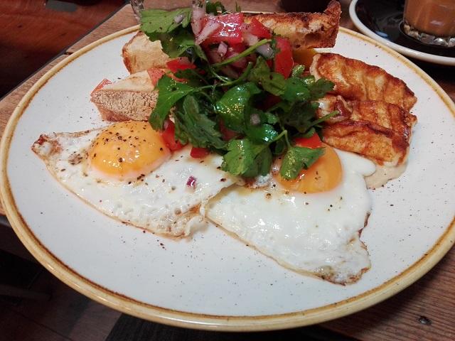 Not your everyday breakfast