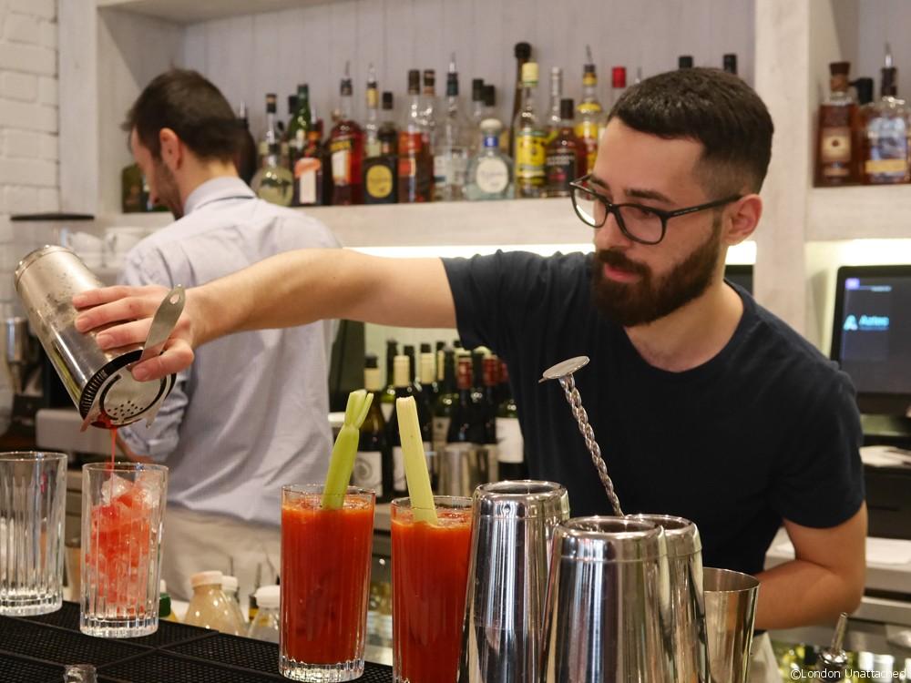 One Duke Street Bloody Marys