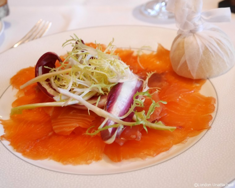Roux at the Landau - smoked salmon