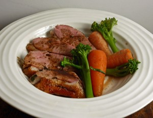 Balsamic Honey and Thyme Duck Breast