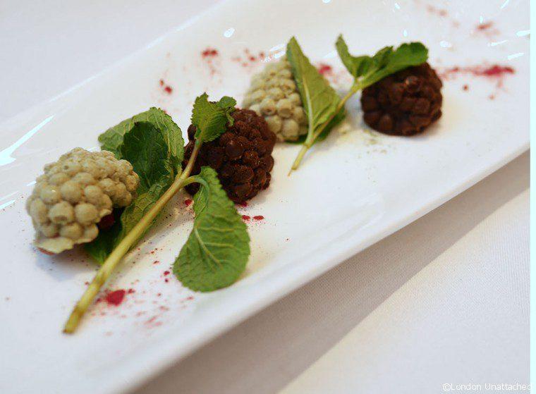 Ametsa - Halkin Hotel - Grapes