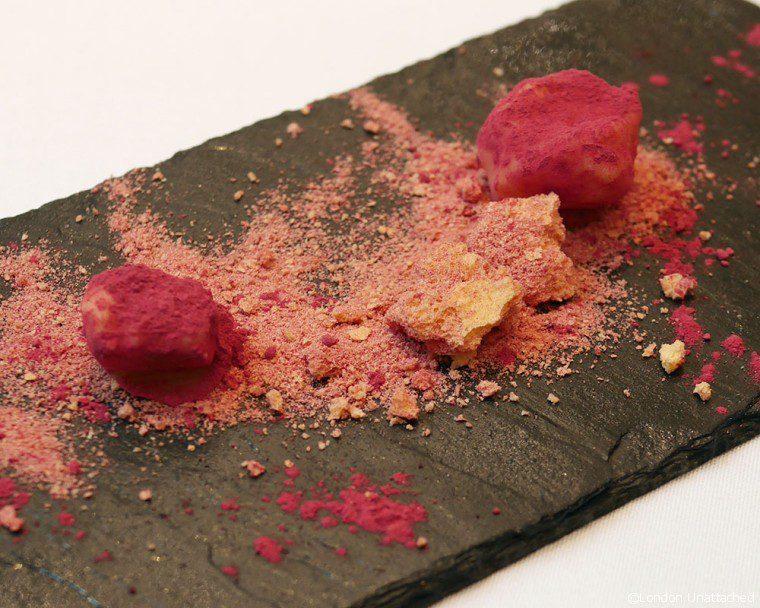 Ametsa - Halkin Hotel - pre dessert