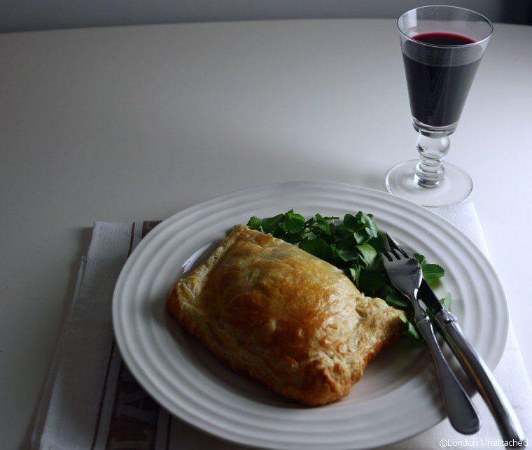 Beef Wellington with Hawkes Bay Aldi Wine