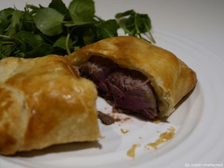 Beef Wellington cut 2